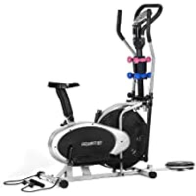 Powertrain Full Body Workout Elliptical Cross Trainer Exercise Bike Home Gym Bicycle
